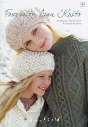 Hayfield Favourite Aran Knits Book - Click HERE to view some of the patterns in this Book