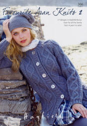 Hayfield Favourite Aran Knits 2 Book  - Click HERE to view some of the patterns in this Book