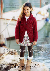 Hayfield A Voyage to the Aran Isles Book - Click HERE to view some of the patterns in this Book