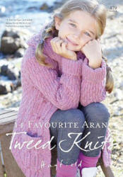 Hayfield Favourite Aran Tweed Knits Book - Click HERE to view some of the patterns in this Book