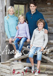 Hayfield Heritage Arans Book - Click HERE to view some of the patterns in this Book