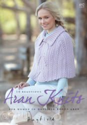 Hayfield 10 Favourite Aran Knits Book - Click HERE to view some of the patterns in this Book
