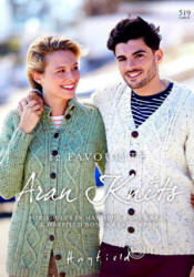 Hayfield 12 Favourite Aran Knits Book 519 - Click HERE to view some of the patterns in this Book