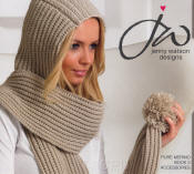 Jenny Watson Designs Pure Merino DK Book 2 - Click HERE to view some of the patterns in this Book
