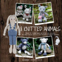Go Handmade 8 Knitted Animals Book