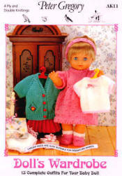 Doll's Wardrobe Book 244 - Click HERE to view some of the patterns in this Book