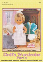 Doll's Wardrobe Part 2 - Click HERE to view some of the patterns in this Book