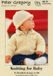 Peter Gregory Knitting for Baby Book AK21