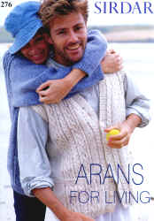 Arans for Living - Click HERE to view some of the patterns in this Book