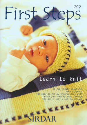 Sirdar Learn to knit Book