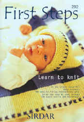 First Steps Learn to Knit Soft Back - Click HERE to view some of the patterns in this Book