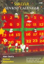 Advent Calendar Pattern Book by Alan Dart