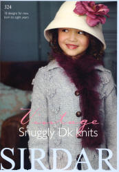 Vintage Snuggly DK Knits - Click HERE to view some of the patterns in this Book
