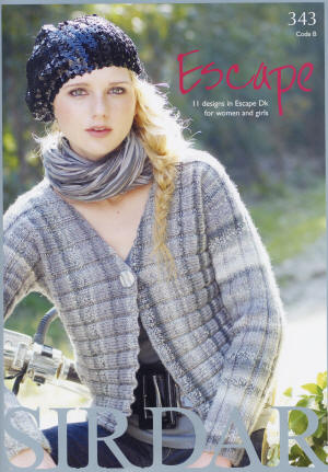 Sirdar Escape Double Knit Book