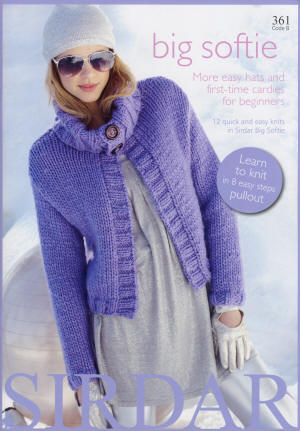 Sirdar Big Softie - more knits for beginners Book