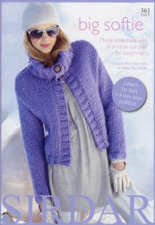 Big Softie - more knits for beginners - Click HERE to view some of the patterns in this Book