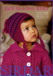 Jack-in-a-box knits Book - Click HERE to view some of the patterns in this Book