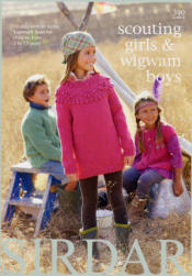 Scouting Girls and Wigwam Boys Book - Click HERE to view some of the patterns in this Book