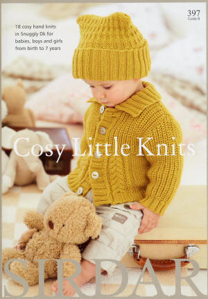 Sirdar Cosy Little Knits Book