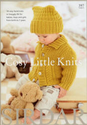 Cosy Little Knits Book - Click HERE to view some of the patterns in this Book
