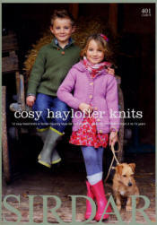 Cosy Haylofter Knits Book - Click HERE to view some of the patterns in this Book