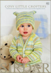 Cosy Baby Crofters Book - Click HERE to view some of the patterns in this Book