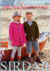 Jolly Beachcomber Knits Book - Click HERE to view some of the patterns in this Book