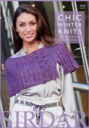 Chic Winter Knits Book - Click HERE to view some of the patterns in this Book