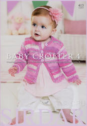 Baby Crofter 4 Book - Click HERE to view some of the patterns in this Book