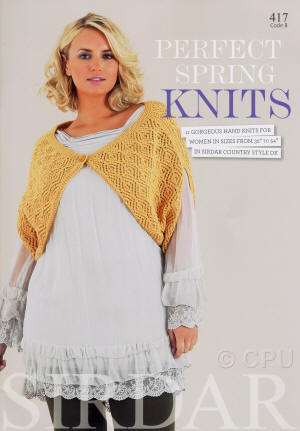 Sirdar Perfect Spring Knits Book
