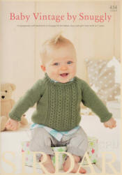 Baby Vintage by Snuggly Book - Click HERE to view some of the patterns in this Book