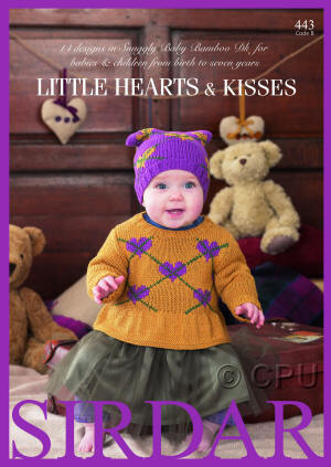 Sirdar Little Hearts and Kisses Book