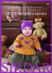 Little Hearts and Kisses Book - Click HERE to view some of the patterns in this Book