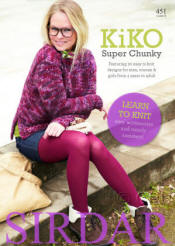 Kiko Super Chunky (Learn to Knit) Book - Click HERE to view some of the patterns in this Book