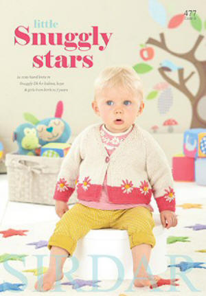 Sirdar Little Snuggly Stars Book
