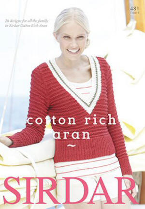 Sirdar Cotton Rich Aran Book