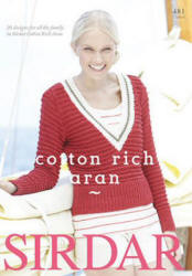 Cotton Rich Aran Book - Click HERE to view some of the patterns in this Book