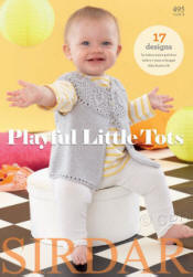 Playful Little Tots Book - Click HERE to view some of the patterns in this Book