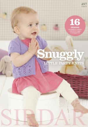 Sirdar Snuggly Little Party Knits Book