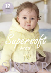Supersoft Aran - Click HERE to view some of the patterns in this Book