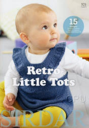 Retro Little Tots - Click HERE to view some of the patterns in this Book