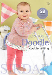 Snuggly Doodle DK - Click HERE to view some of the patterns in this Book