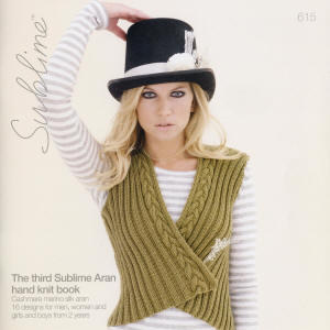 The third Sublime Aran hand knit Book