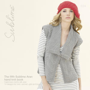 The fifth Sublime Aran hand knit Book