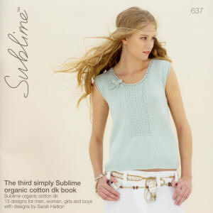 The third simply Sublime organic cotton dk Book