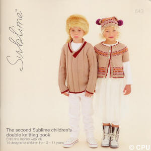 The second Sublime children's double knitting Book