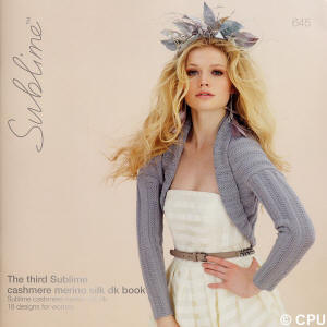 The third Sublime cashmere merino silk dk Book
