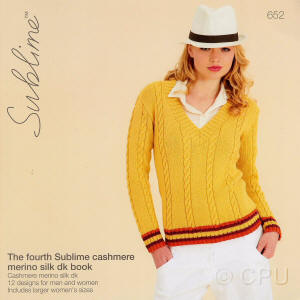 The fourth Sublime cashmere merino silk dk Book