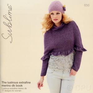 The Lustrous Extrafine Merino dk Book