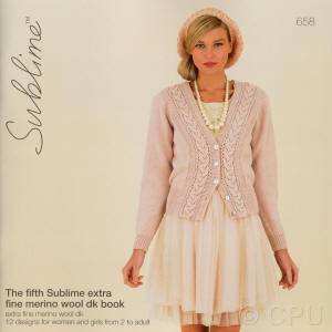 The fifth Sublime extra fine merino wool dk Book